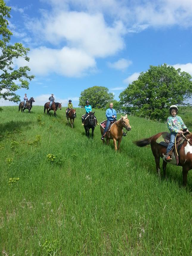 Silver Sage Guest Ranch Horseback Trail Riding