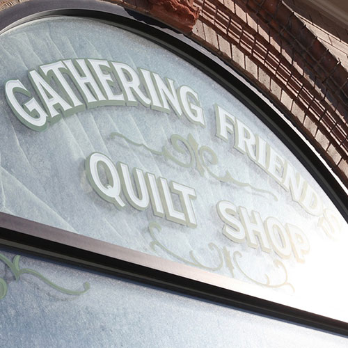 Gathering Friends Quilt Shop