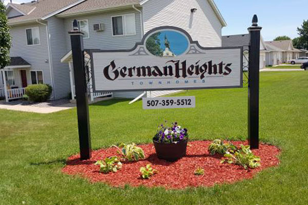 German Heights Townhomes - New Ulm, MN.